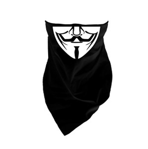 V For Vendetta Guy Fawkes Mask Bandana
