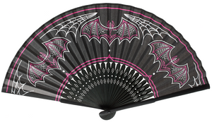 Sourpuss - Batty Pinstripe Fan