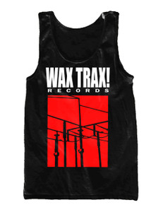 Wax Trax! Records Unisex Tank T-Shirt