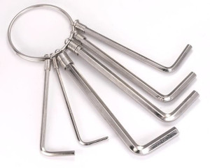 6 Pieces Allen  Wrench Key Set