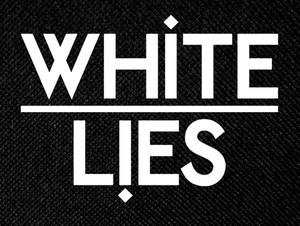 "White Lies 5.25x4"" Printed Patch"