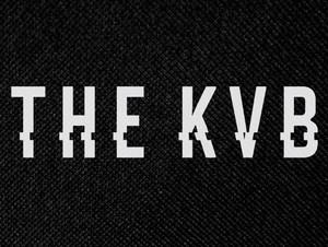 "The KVB 5.25x4"" Printed Patch"