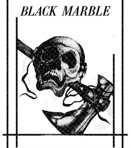 """Black Marble 4x4.5"""" Printed Patch"""