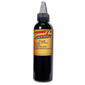Eternal ink 1oz Tattoo Ink Bottle - Plum