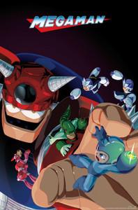 "Mega Man Battle 24x36"" Poster"