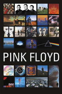 "Pink Floyd's Discography 24x36"" Poster"