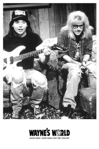 "Wayne's World 24x36"" Poster"
