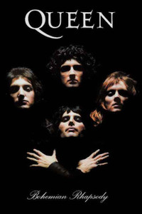 "Queen Bohemian Rhapsody 24x36"" Poster"