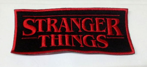 "Stranger Things 5"" Embroidered Patch"