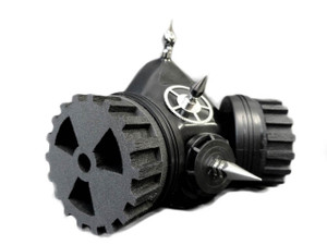 Black Spiked Respirator