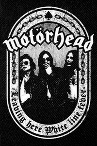 "Motorhead Leaving Here 5x4"" Printed Patch"