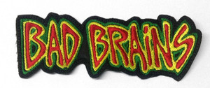 "Bad Brains 5x1.5"" Embroidered Patch"