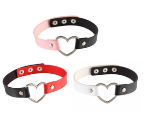 Heart Ring Bicolor Choker