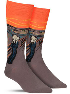 Edvard Munch's The Scream Socks