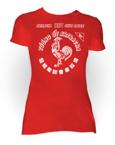 Sriracha Sauce Red Girls T-Shirt