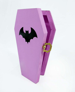 Pink Coffin Jewelry Trinket Box