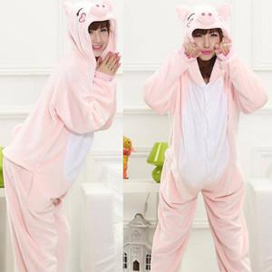 Pink Piggy Kigurumi Adult Size Onesie