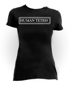 Human Tetris Girls T-Shirt