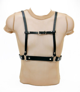 Road Warrior - Leather Men's Harness