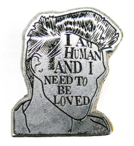 "The Smiths I Am Human 1"" Metal Badge Pin"