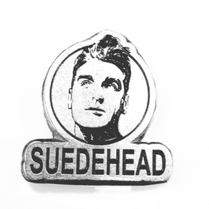 "Morrissey Suedehead 1"" Metal Badge Pin"