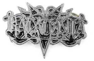 "Katatonia Logo 2x1 1/4"" Metal Badge Pin"