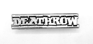 "Death Row Records Logo 2x.5"" Metal Badge Pin"
