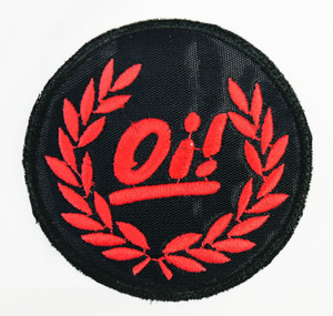 "Oi! Red Logo 3"" Embroidered Patch"