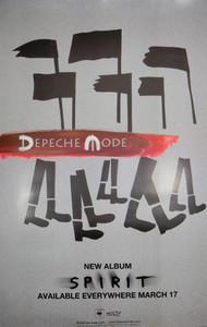 """Depeche Mode Spirit 24x36"""" Poster"""