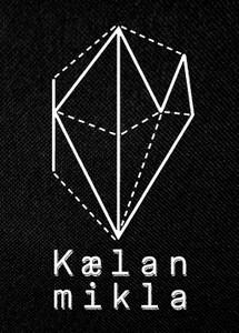 "Kaelan Mikla 4x5.25"" Printed Patch"