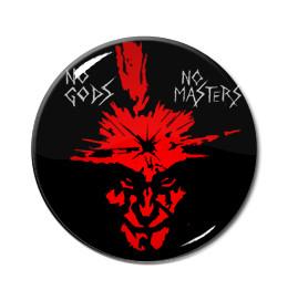 """Amebix No Gods No Masters 1.5"""" Pin"""
