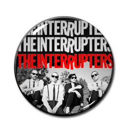 "The Interrupters 1.5"" Pin"