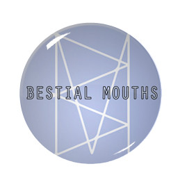 "Bestial Mouths 1.5"" Pin"