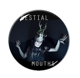 "Bestial Mouths 1"" Pin"