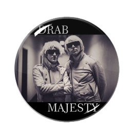 "Drab Majesty 1"" Pin"