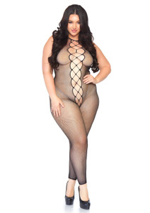 Footless Fishnet Extra Large Bodystocking