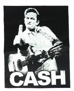 Johnny Cash Test Backpatch