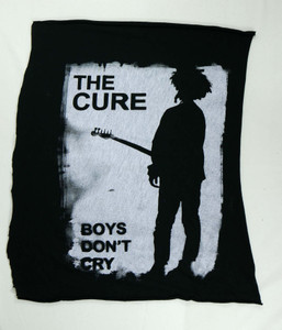 The Cure Boys Don't Cry Test Backpatch