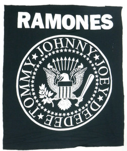 The Ramones Logo Test Backpatch