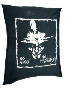 Amebix No Gods No Masters Test Backpatch