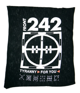 Front 242 Tyranny for You Test Backpatch
