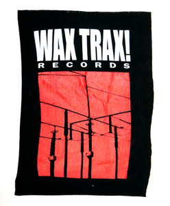 Wax Trax! Records Test Backpatch