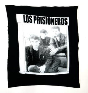 Los Prisioneros White Test Backpatch