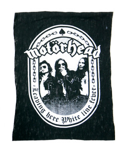 Motorhead Leaving Here Test Backpatch