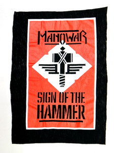 Manowar Sign of the Hammer Test Backpatch