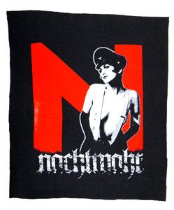 Nachtmahr Maid in Uniform Test Backpatch