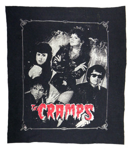 The Cramps Rocking Bones Test Backpatch