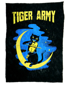 Tiger Army Violin Cat Test Backpatch