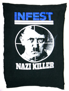 Infest Nazi Killer Test Backpatch
