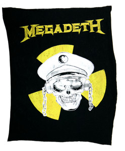 Megadeth Test Backpatch